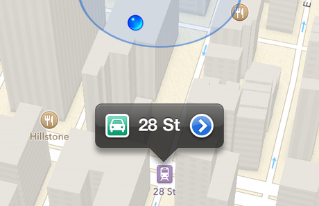 20 vấn đề cần được Apple sửa chữa trong iOS 7 nếu ra mắt - maps