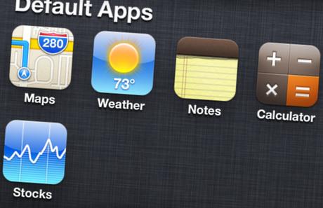 20 vấn đề cần được Apple sửa chữa trong iOS 7 nếu ra mắt - default app