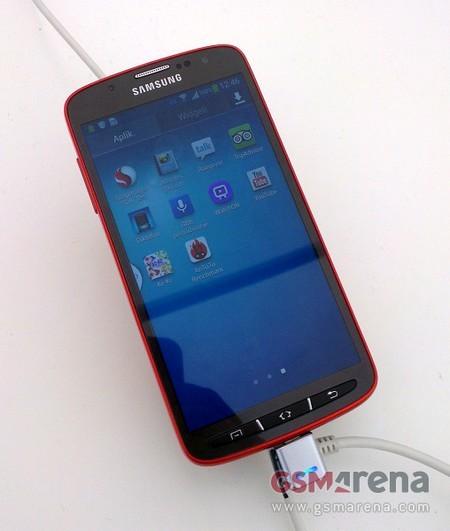 Lộ diện ảnh thực tế Galaxy S4 phiên bản chống nước, chống bụi 1