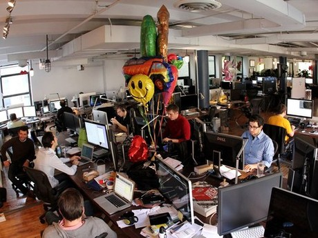 Bên trong trụ sở mạng xã hội giá 1,1 tỉ USD Tumblr 4