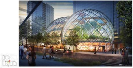 """Amazon """"chơi trội"""" xây trụ sở hình tròn bằng kính - ảnh 9"""