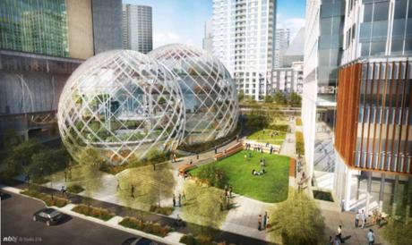"""Amazon """"chơi trội"""" xây trụ sở hình tròn bằng kính - ảnh 2"""