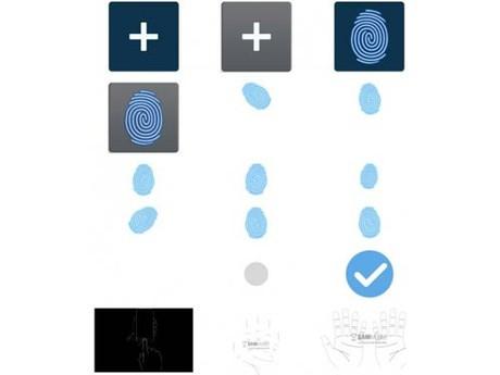 Samsung phát triển công nghệ bảo mật vân tay