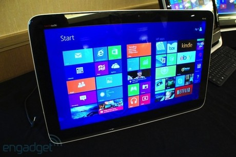 HP giới thiệu máy tính AIO Envy Rove 20 chạy Windows 8