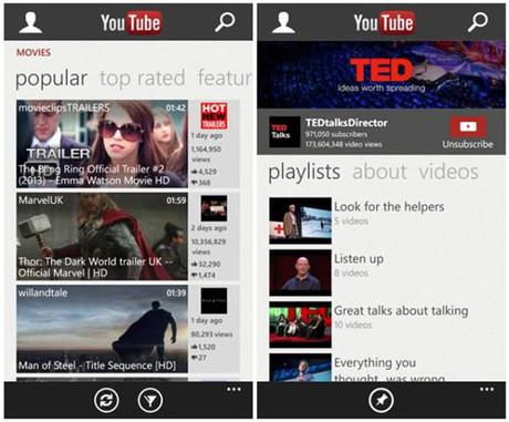 Microsoft cập nhật YouTube theo khuyến cáo của Google