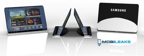 Ngắm ý tưởng MTB Samsung với màn hình uốn dẻo