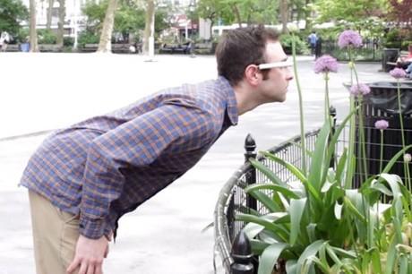 Nhiếp ảnh gia thời Google Glass