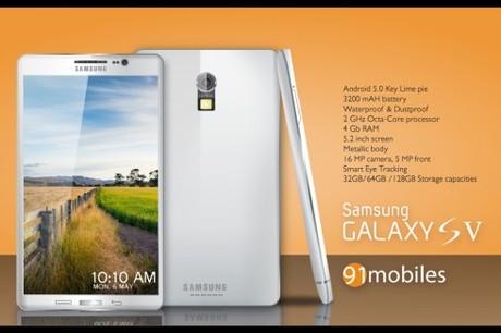 Ngắm ý tưởng thiết kế Galaxy S5 chống nước và camera 16 Mpx