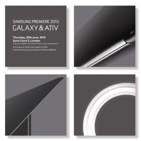 Samsung gửi thư mời sự kiện mới được tổ chức vào tháng 20/6 tại London