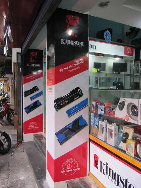 Kingston ra mắt 11 cửa hàng bán lẻ tại Việt Nam