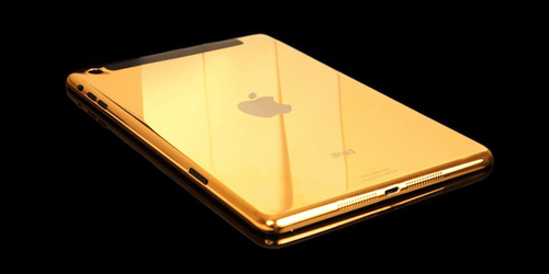 ipad air, ipad mini retina phiên bản vàng thật