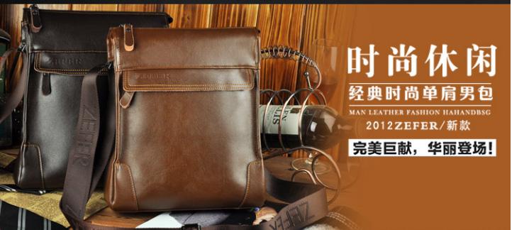 Túi da nam đựng iPad Zefer kiểu 1 , túi xách nam