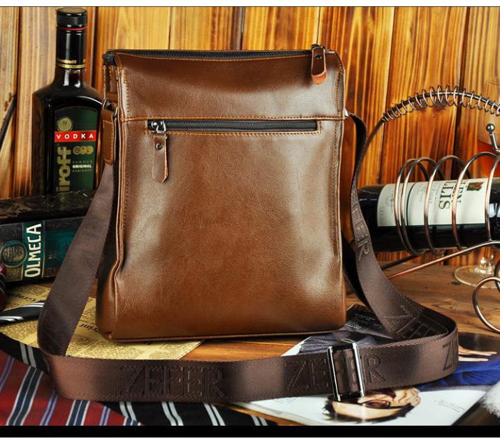 Túi đựng iPad cho nam Zefer kiểu 1 mặt sau