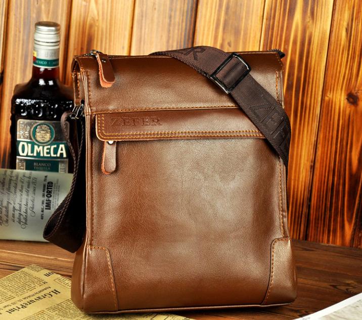 Túi đựng iPad cho nam Zefer kiểu 1 màu nâu nhạt