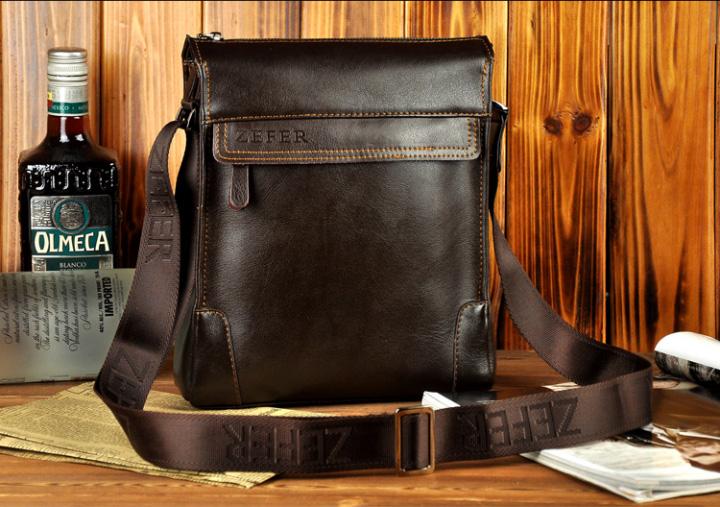 Hình ảnh túi xách nam, túi đựng iPad Zefer kiểu 1 da thật