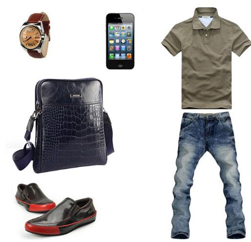 Túi xách nam tại Shop Tuixachda dễ phối quần áo cho bạn