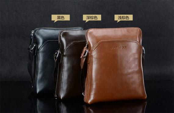 Túi da nam thời trang cao cấp SantaGolf có 3 màu sang trọng
