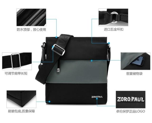 Túi đựng iPad bằng vải Zoro Paul thời trang tiện lợi