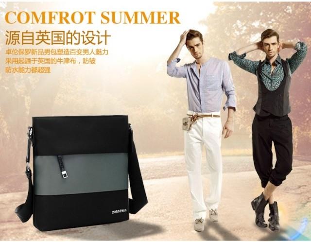 Túi đựng iPad bằng vải Zoro Paul đeo chéo thời trang