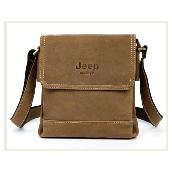 Túi xách nam da thật Jeep dạng hộp 001
