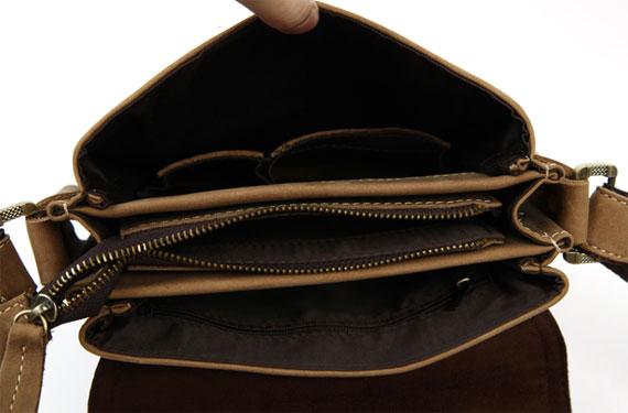 Hình ảnh bên trong túi xách nam da thật Jeep dạng hộp 001