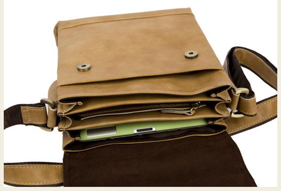 Túi xách nam da thật Jeep dạng hộp 001 và khả năng chứa đồ