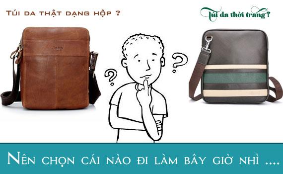 Địa chỉ mua túi xách nam giá rẻ uy tín tại Hà Nội