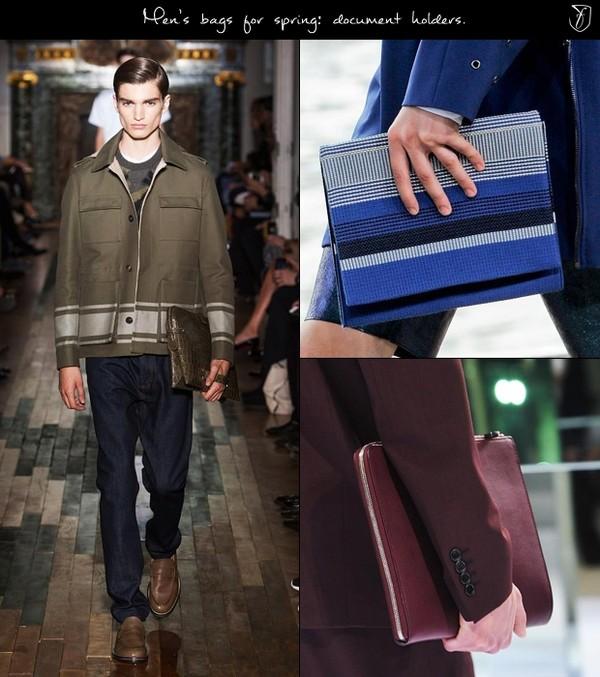 Túi xách nam Folio mạnh mẽ và đầy cá tính