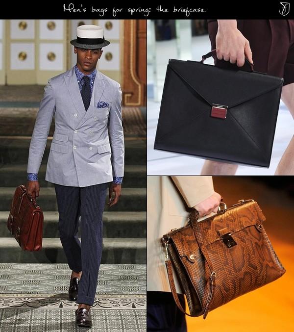 Túi xách nam dạng Briefcase hay còn gọi là cặp táp