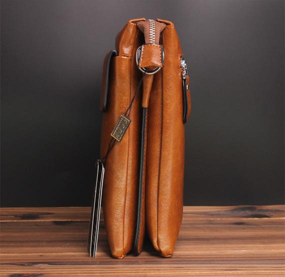 Thân túi xách da nam đựng iPad Bolo