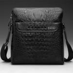 Túi đeo chéo đựng iPad vân cá sấu chính hãng CK