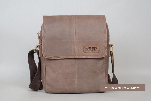 Túi xách nam đẹp Jeep 018 da thật thời trang nam tính