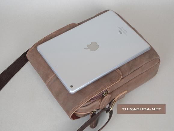 Túi xách nam da thật Jeep 018 đựng vừa iPad và các dòng máy tính bảng mới nhất