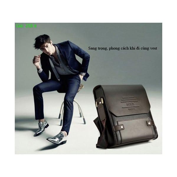Túi xách da Polo giá rẻ chỉ 250k cho nam
