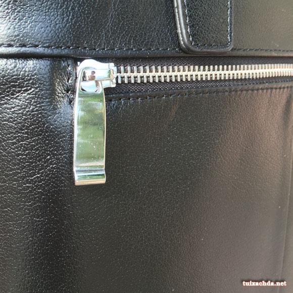 Hình ảnh khóa túi xách nam da thật 006