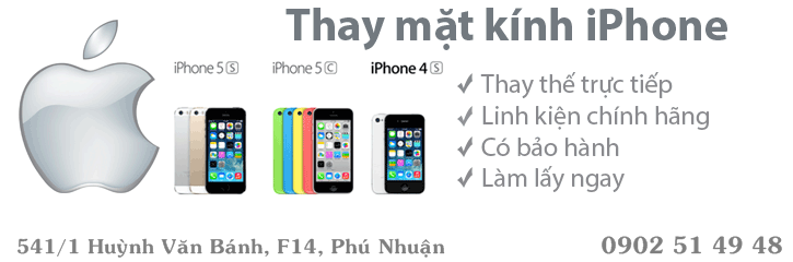 thay màn hình iphone 5s bao nhiêu