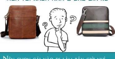 Mua túi đeo chéo nam ở đâu giá rẻ uy tín tại tphcm hà nội