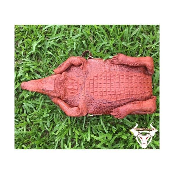 Hàng độc túi da cá sấu nam nguyên con