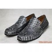 Giầy lười da cá sấu nam 012