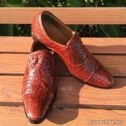 Giày lười nam da cá sấu thật 004