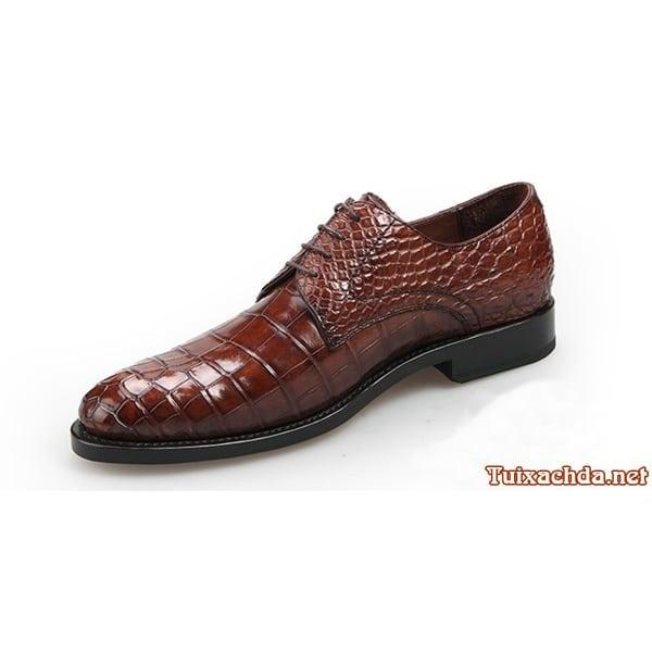 Giày nam da cá sấu thật giá rẻ 009