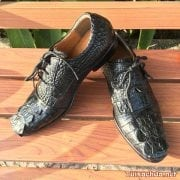 Giày tây da cá sấu thật 006