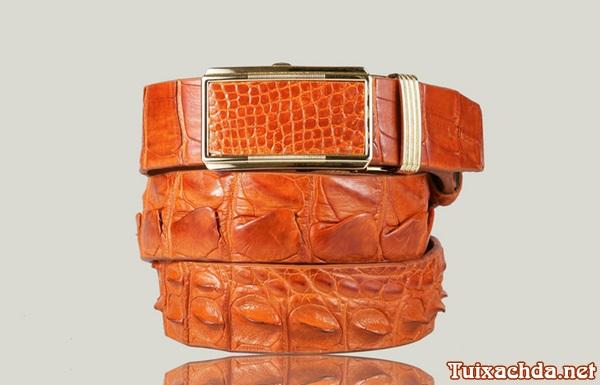 Dây nịt da cá sấu nam giá rẻ chỉ 550k
