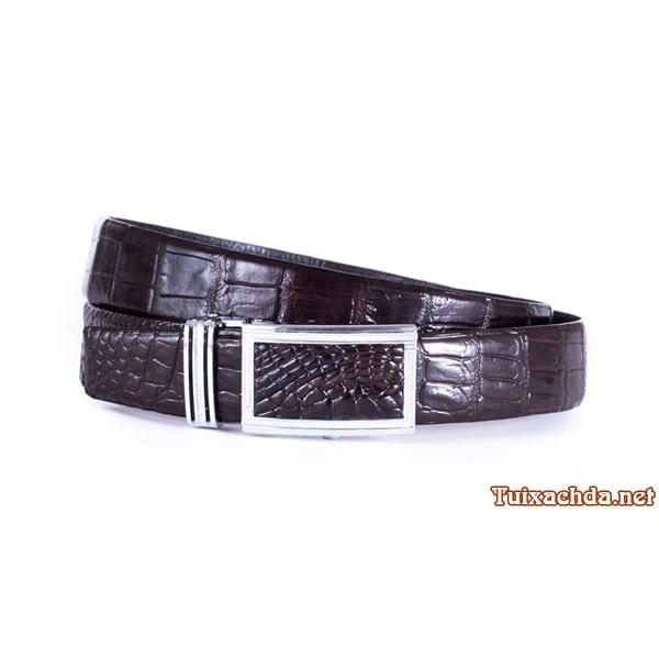 Thắt lưng nam da cá sấu thật giá rẻ 006