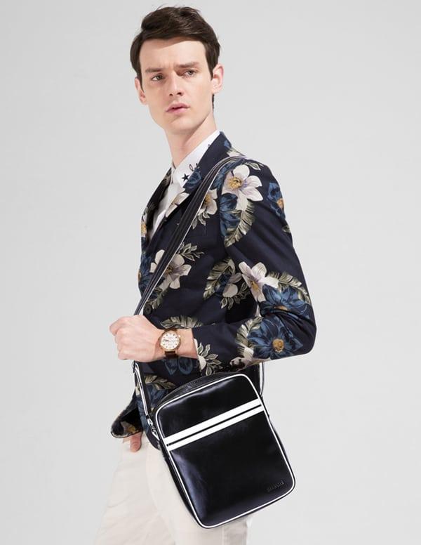 Lịch lãm bên chiếc túi xách nam hàng hiệu Sammons 007