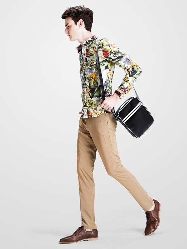 Phong cách trẻ trung năng động với túi đựng iPad nam Sammons 007