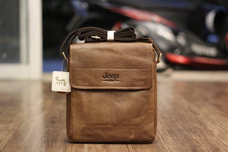 Túi đeo chéo nam da thật JEEP 01 - 2017 mẫu mới tuyệt đẹp