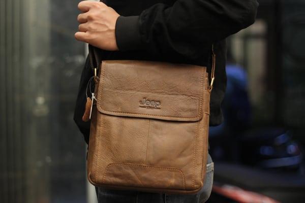 Túi đeo chéo nam da thật JEEP 01 - 2017 mẫu mới