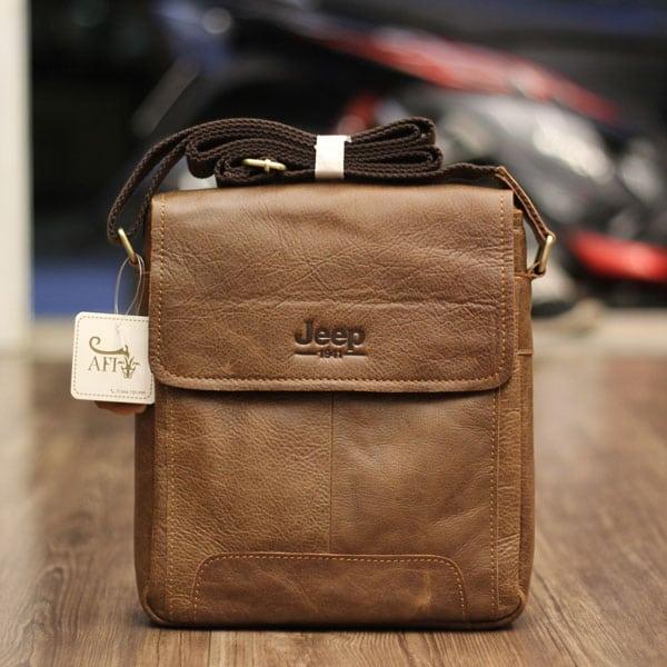 Túi đeo chéo nam da thật JEEP 01 – 2017