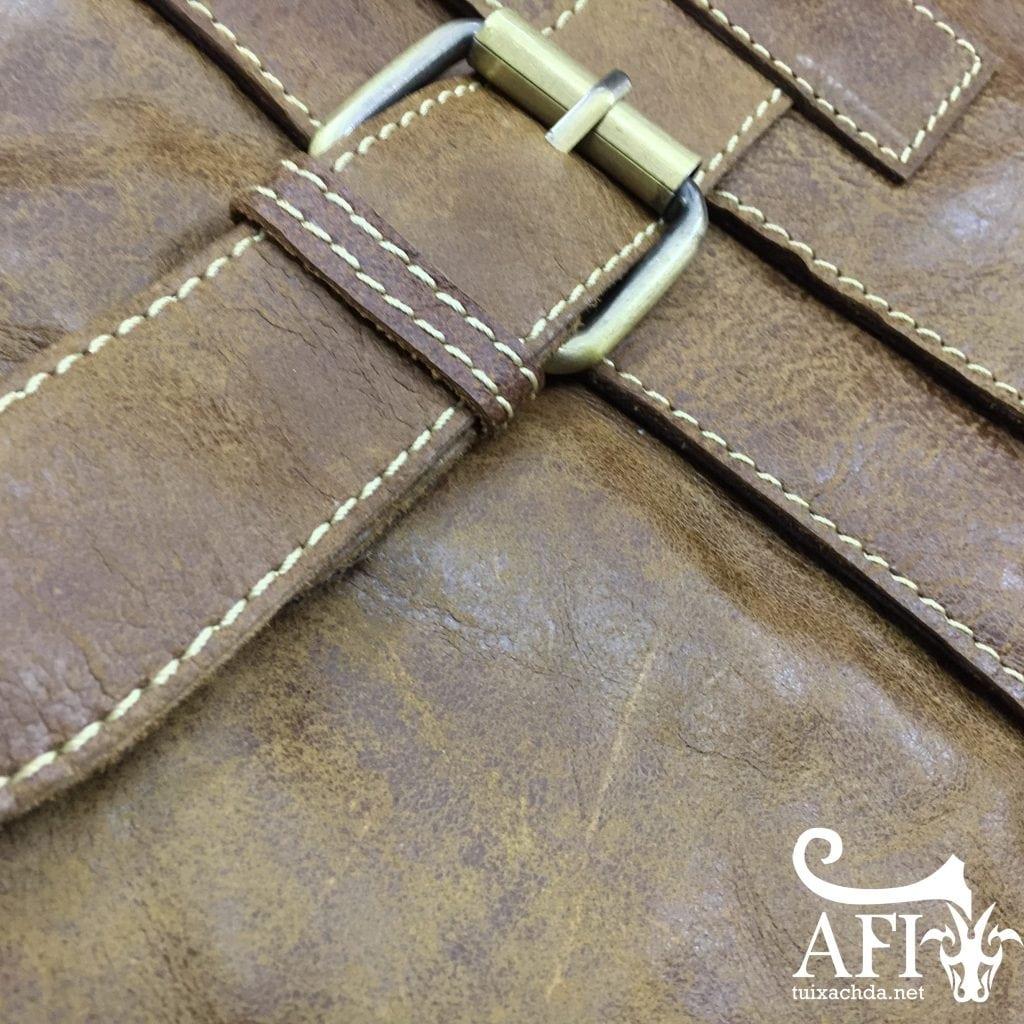 Chất lượng da tuyệt hảo cho chiếc túi xách đeo chéo KT34 độ bền tuyệt hảo